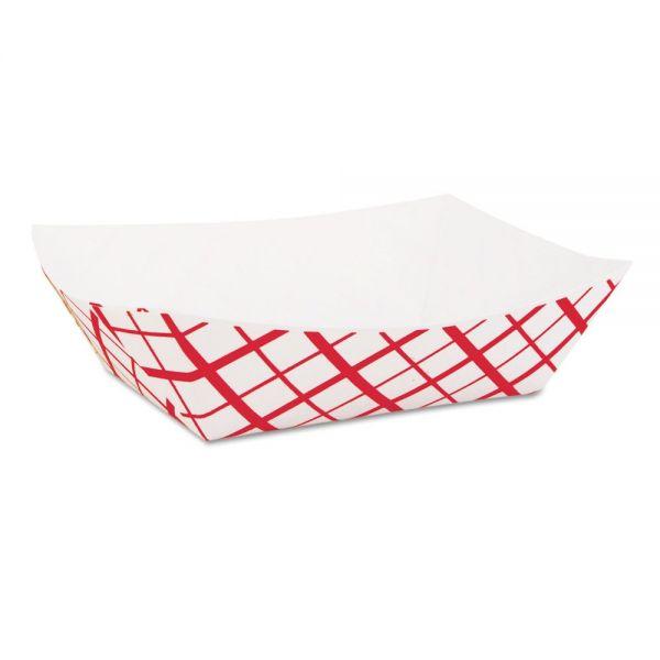 SCT 1 lb Paper Food Baskets