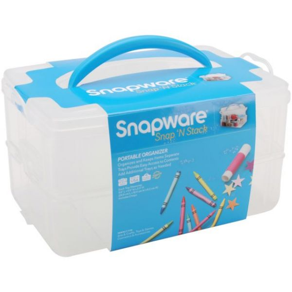 Snapware Snap 'n Stack Craft Organizer Containers