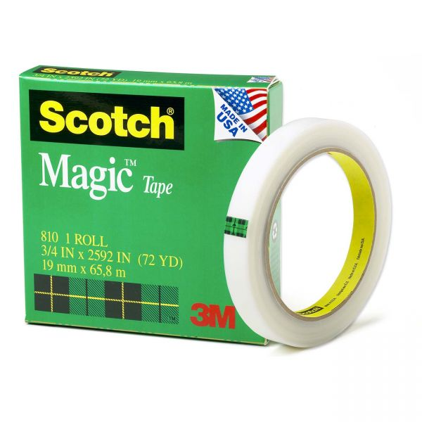 "Scotch 3/4"" Magic Transparent Tape"