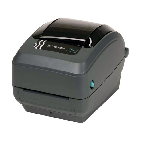 Zebra GX420t Direct Thermal/Thermal Transfer Printer - Monochrome - Desktop - Label Print