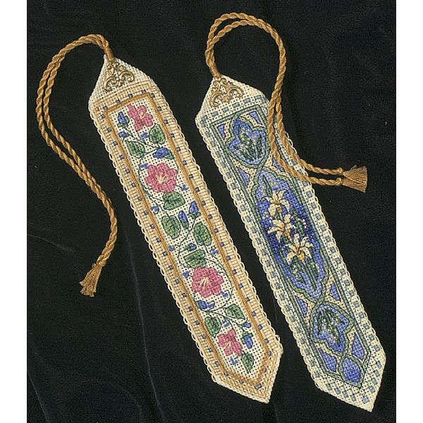 Dimensions Gold Collection Bookmarks Counted Cross Stitch Kit