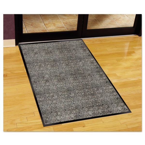 Guardian Silver Series Indoor Walk-Off Mat, Polypropylene, 48 x 72, Pepper/Salt