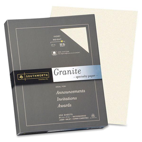 Southworth Granite Specialty Paper