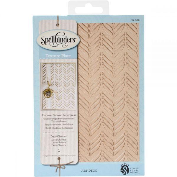 Spellbinders Texture Plate