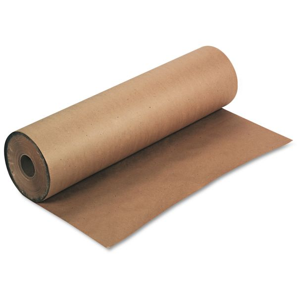 "Pacon Kraft Paper Roll, 50 lbs., 36"" x 1000 ft, Natural"