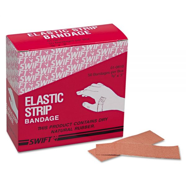 "Heavy Woven Adhesive Bandages, 7/8"" x 3"""