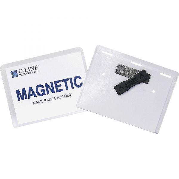 C-Line Magnetic Name Badges