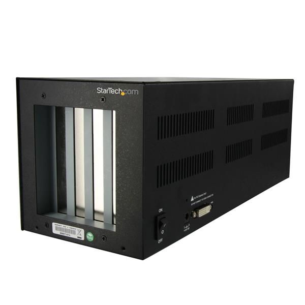StarTech.com PCI Express to 2 PCI & 2 PCIe Expansion Enclosure System - Full Length - Expansion Bay - External - 4 slot - PCI Express Single Lane - PCI Full Length