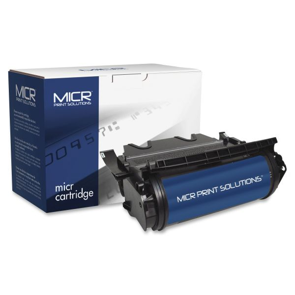 MICR Print Solutions Remanufactured Lexmark 12A7460 Black Toner Cartridge