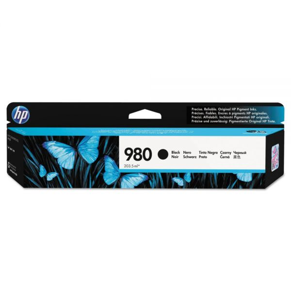 HP 980 Black Ink Cartridge (D8J10A)
