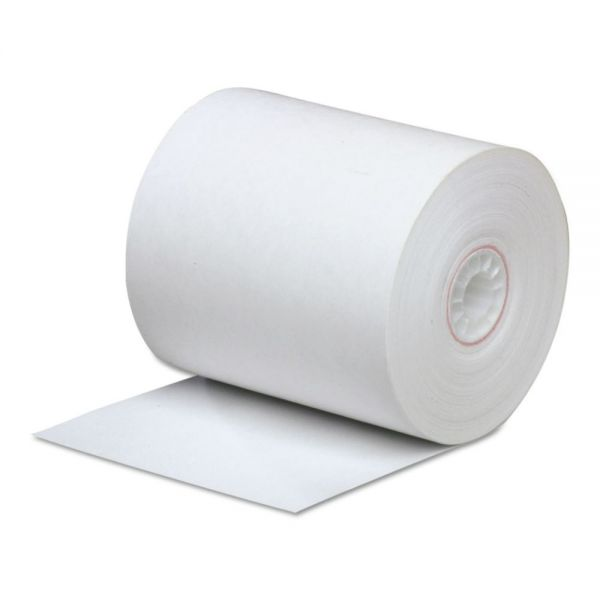 "PM Company Direct Thermal Printing Thermal Paper Rolls, 3 1/4"" x 85 ft, White, 50/Carton"