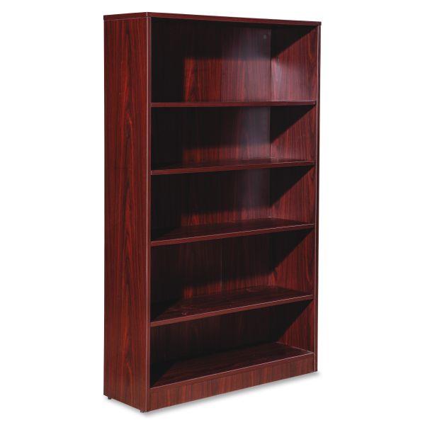 Lorell Essentials 5-Shelf Bookcase