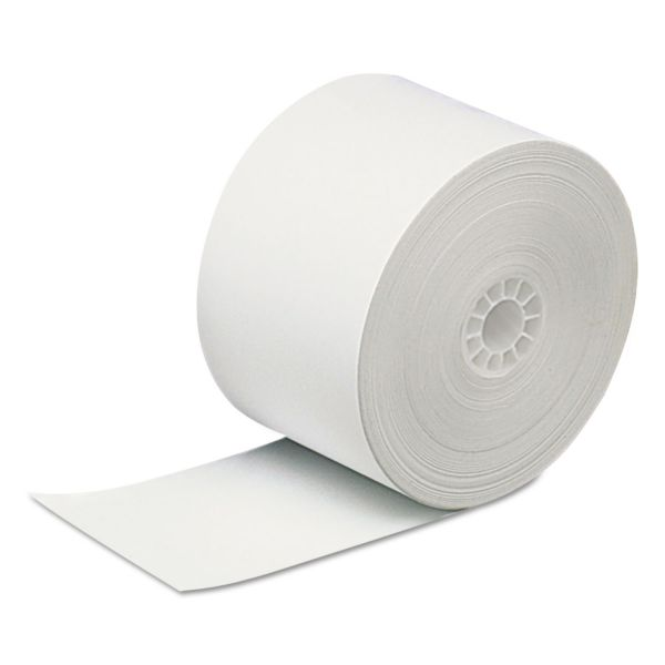 "PM Company Direct Thermal Printing Thermal Paper Rolls, 2 5/16"" x 400 ft, White, 12/Carton"
