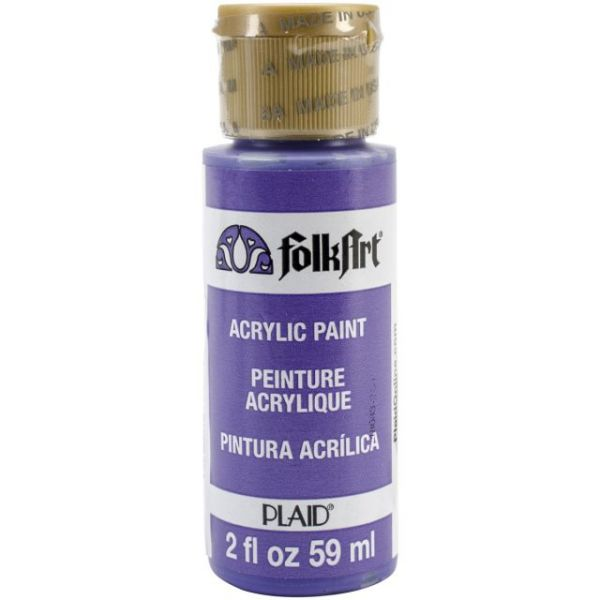 Folk Art Purfect Purple Acrylic Paint