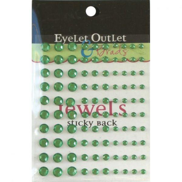 Bling Self-Adhesive Jewels Multi-Size 100/Pkg