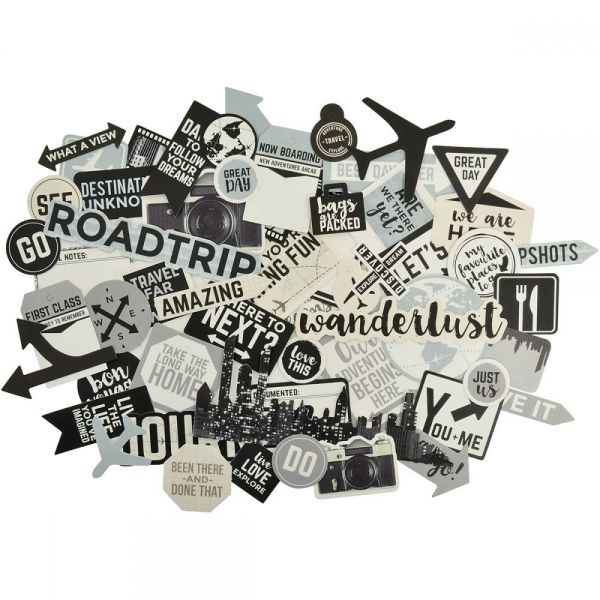 Just Landed Collectables Cardstock Die-Cuts