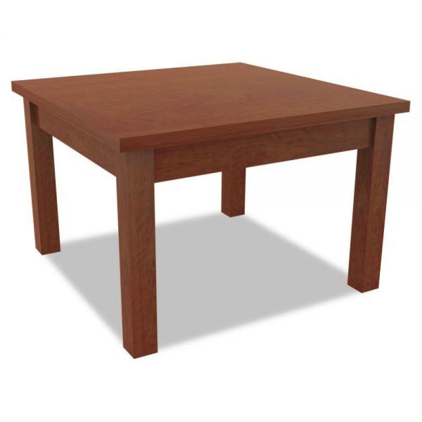 Alera Alera Valencia Series Occasional Table, Rectangle, 23-5/8 x 20 x 20-3/8, Cherry