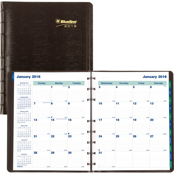 Blueline MiracleBind Monthly Academic Planner