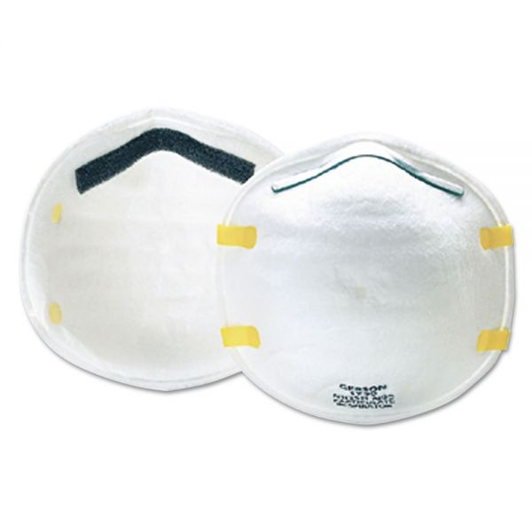 Gerson Cup-Style Particulate Respirator, N95, 20/Box
