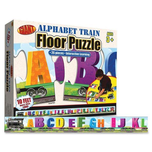 Carson-Dellosa Alphabet Train Floor Puzzle
