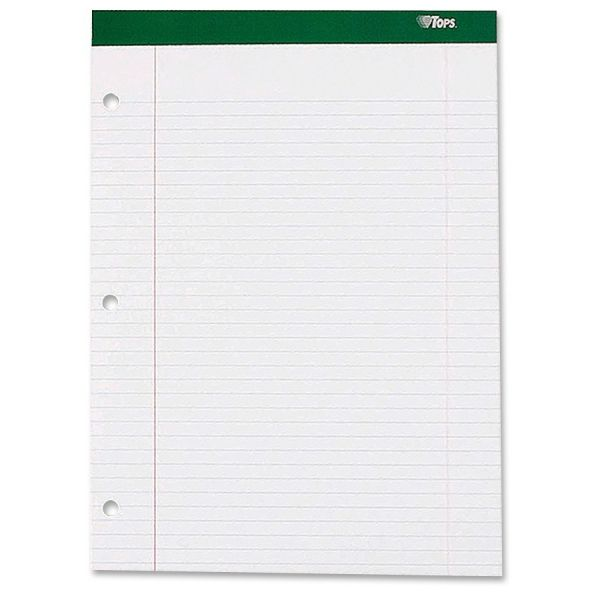 TOPS White Legal Pad
