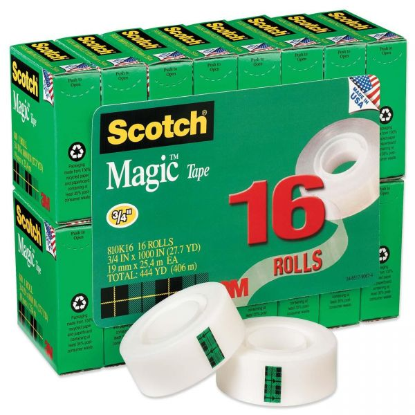 Scotch Magic Invisible Tape Refill Value Pack