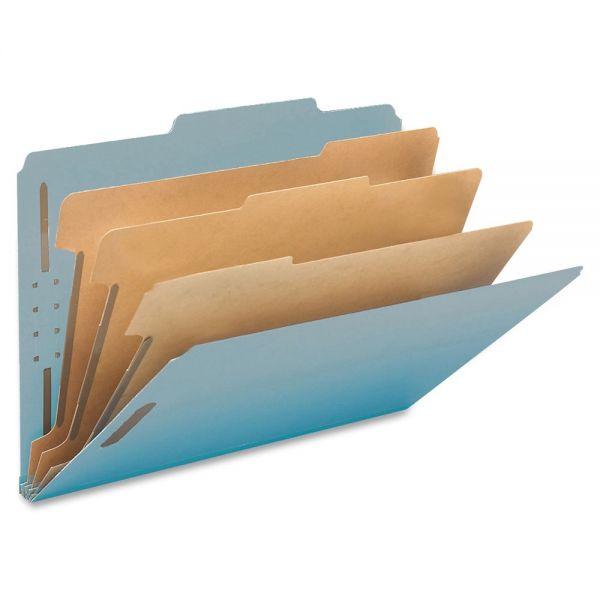 Smead 100% Recycled Pressboard Classification Folders