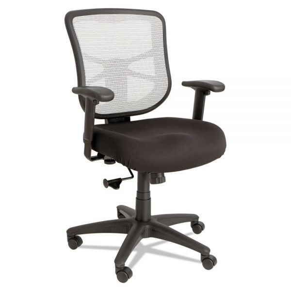 Alera Elusion Series Mesh Mid-Back Swivel/Tilt Office Chair