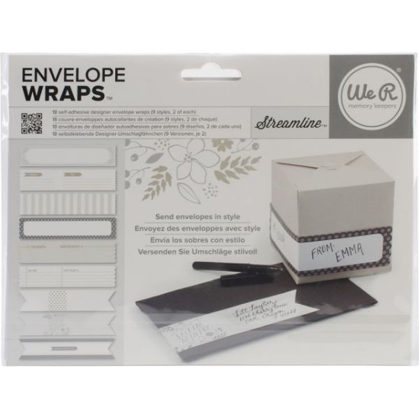 Self-Adhesive Envelope Wraps 18/Pkg