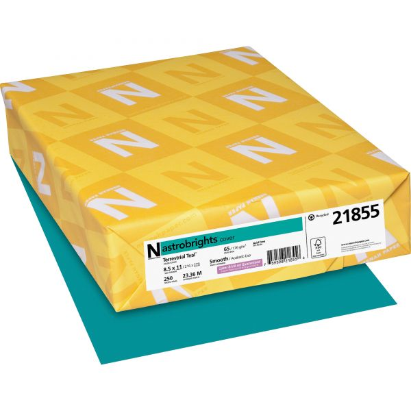 Neenah Paper Astrobrights Terrestrial Teal Colored Card Stock