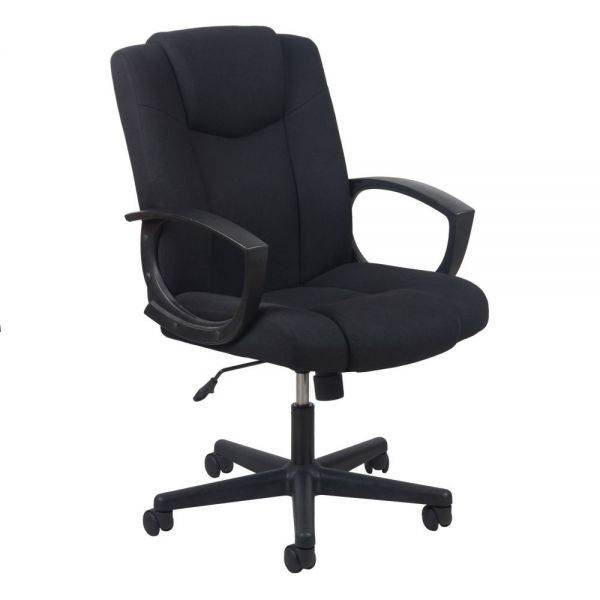 Essentials by OFM Swivel Upholstered Task Chair with Arms