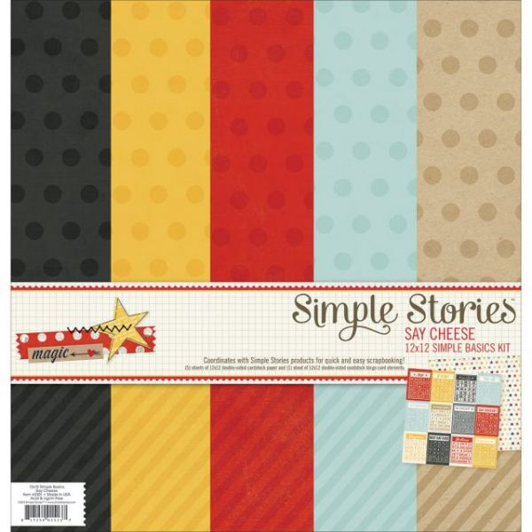 Simple Stories Simple Basics Scrapbook Kit