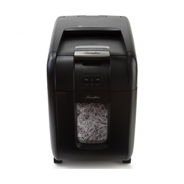Swingline Stack-and-Shred 175X Hands-Free Micro-Cut Shredder