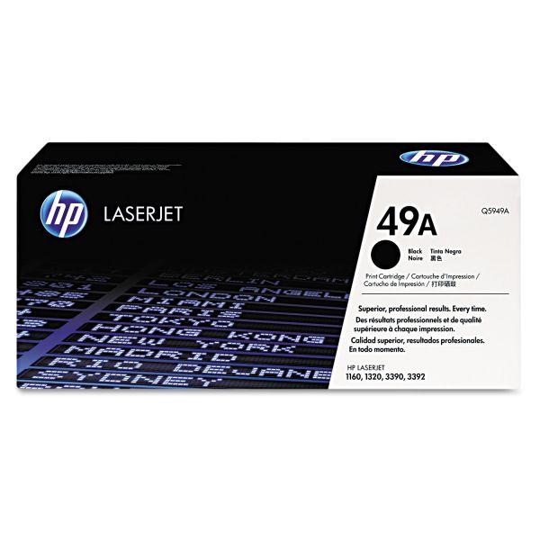 HP 49A Black Toner Cartridge (Q5949AG)
