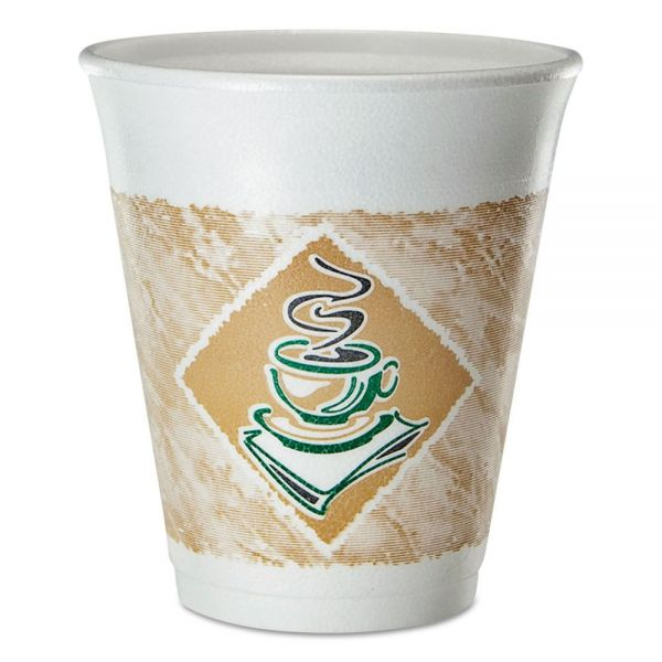 Dart 8 oz Foam Coffee Cups