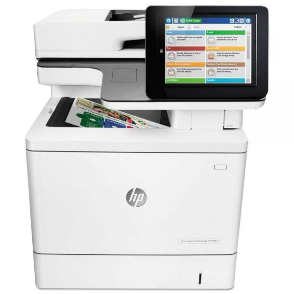 HP Color LaserJet Enterprise Flow MFP M577c Wireless Printer, Copy/Fax/Print/Scan