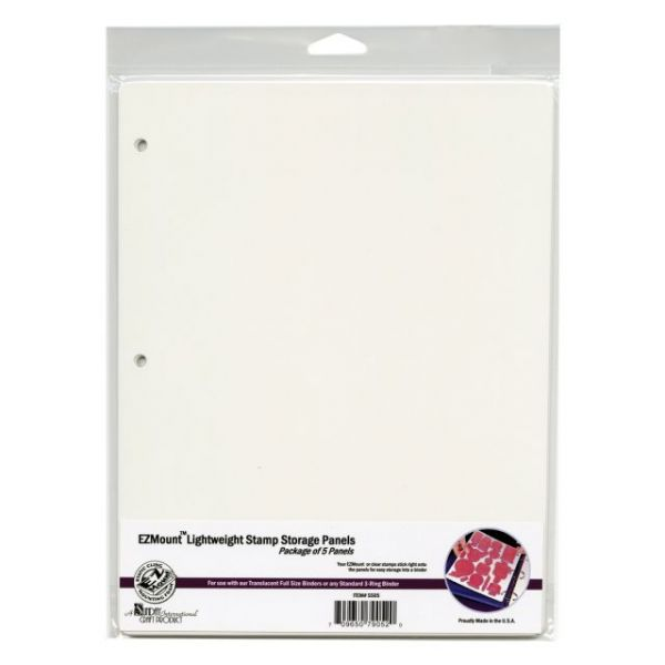 Stamp N' Store Storage Panels 5/Pkg