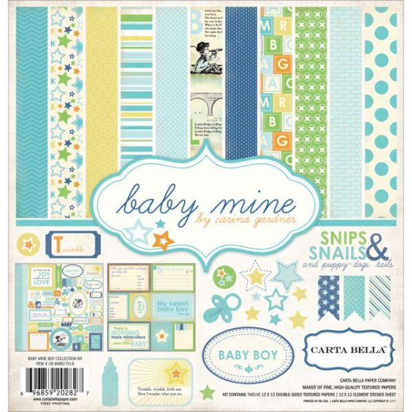 Carta Bella Collection Scrapbook Kit