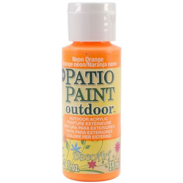 Deco Art Neon Orange Patio Paint