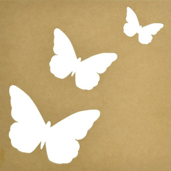 Beyond The Page MDF Flutter Silhouette Wall Art Frame