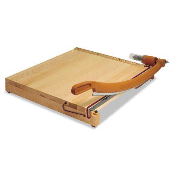 Swingline ClassicCut Ingento Solid Maple Paper Trimmer, 15 Sheets, Maple Base, 24 x 24