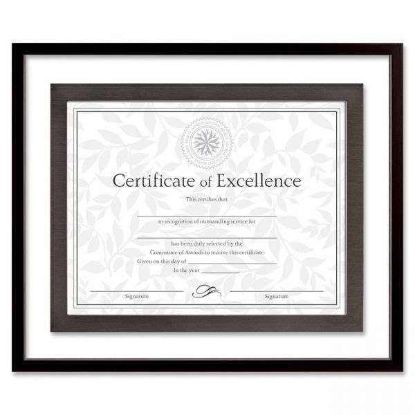 DAX Contemporary Picture/Certificate Float Frame