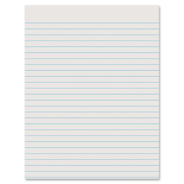 Ruled Newsprint Practice Writing Paper