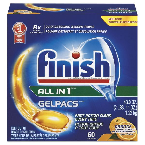 FINISH Dish Detergent Gelpacs