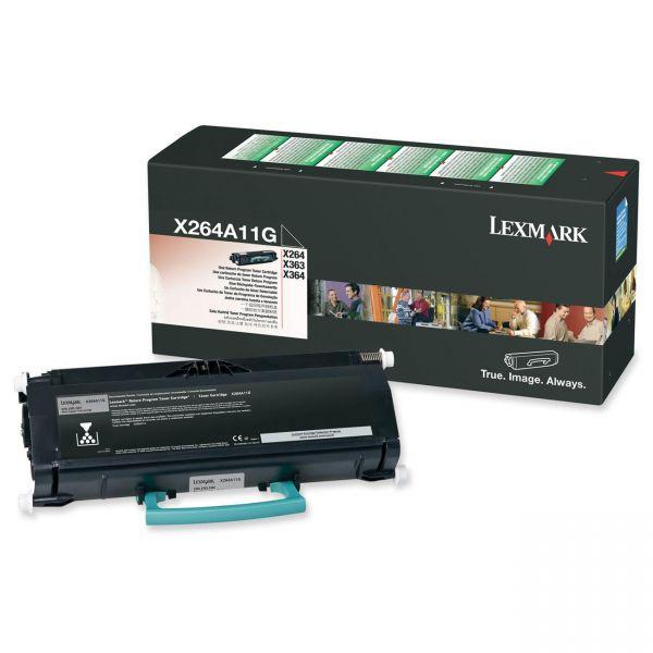 Lexmark X463A11G Black Return Program Toner Cartridge