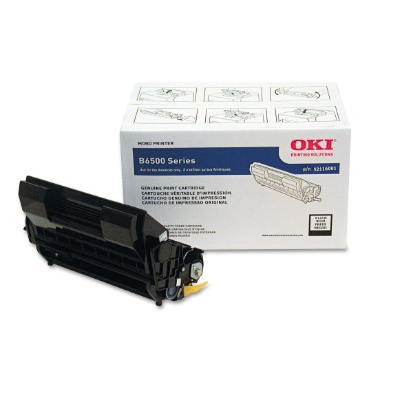 Oki 52116001 Black Toner Cartridge
