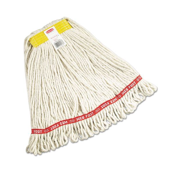 Rubbermaid Commercial Web Foot Wet Mop Heads
