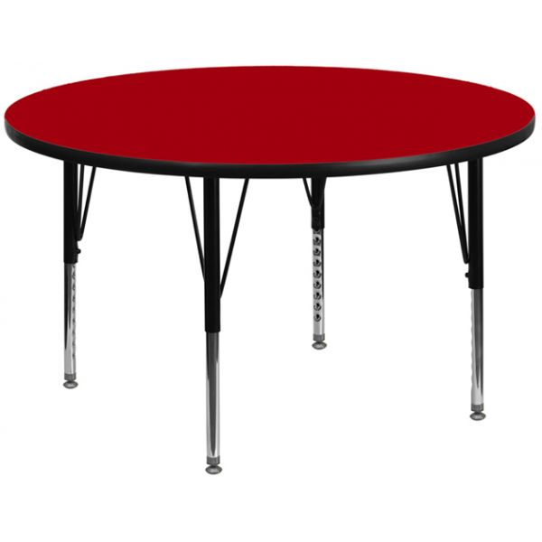 Flash Furniture Height Adjustable Round Activity Table