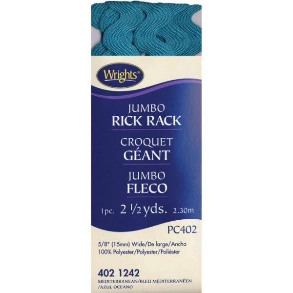 "Jumbo Rickrack 5/8""X2-1/2yd"