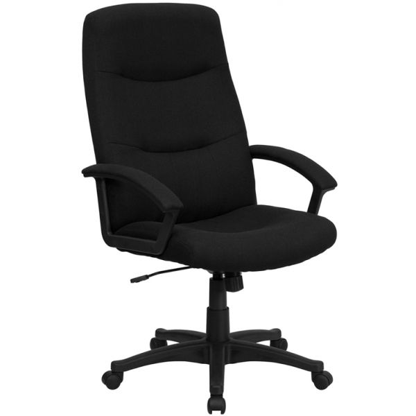 Flash Furniture High Back Executive Swivel Office Chair [BT-134A-BK-GG]